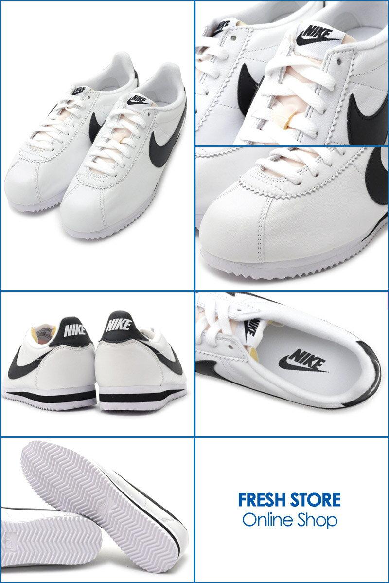 reputable site 8162f 38389 Nike NIKE CLASSIC CORTEZ PREMIUM QS コルテッツスニーカーシューズ WHITE/BLACK 724262100  491001757280