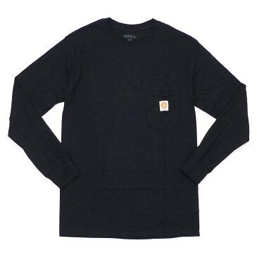 【期間限定特別価格!!】 917 ナインワンセブン Nine One Seven Workman Long Sleeve Tee 長袖Tシャツ BLACK 202000934131 【新品】