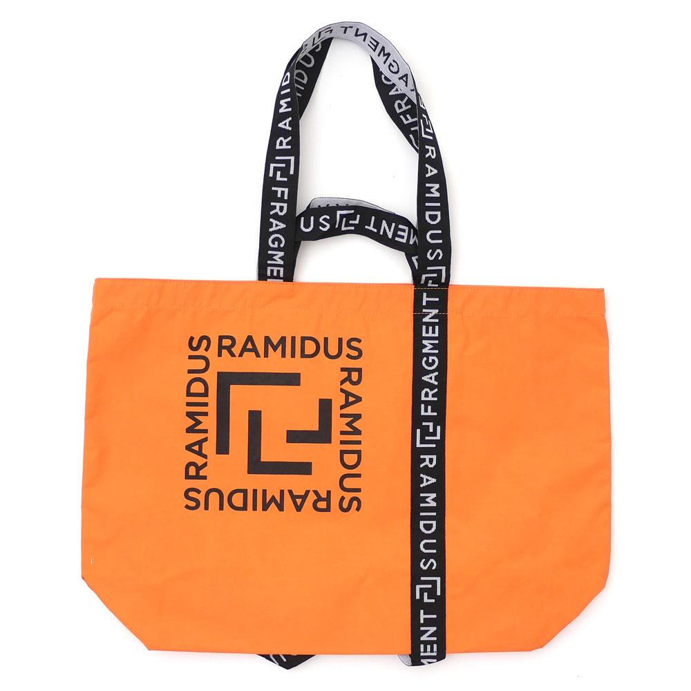 メンズバッグ, トートバッグ  RAMIDUS x Fragment Design TOTE BAG(L) ORANGE