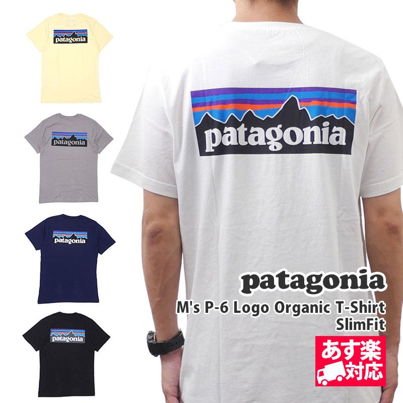 トップス, Tシャツ・カットソー 14:00 Patagonia 19FW Ms P-6 Logo Organic T-Shirt T SlimFit 39151 2019FW