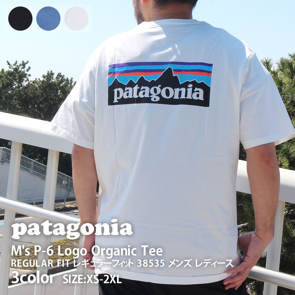 トップス, Tシャツ・カットソー 14:00 Patagonia 21SS Ms P-6 Logo Organic T-Shirt P-6 T 38535 2021SS