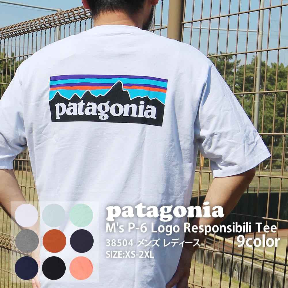 トップス, Tシャツ・カットソー 14:00 Patagonia 21SS Ms P-6 Logo Responsibili Tee P-6 T 38504 2021SS 39174