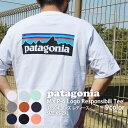新品 パタゴニア Patagonia 21SS M's P-6 Logo Responsibili Tee P-6ロゴ レスポンシビリ Tシャツ 38504 メ...