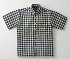 【MEN】BRITISHGREEN(ブリティッシュグリーン)シルク混軽量コットンブロックチェックシャツ
