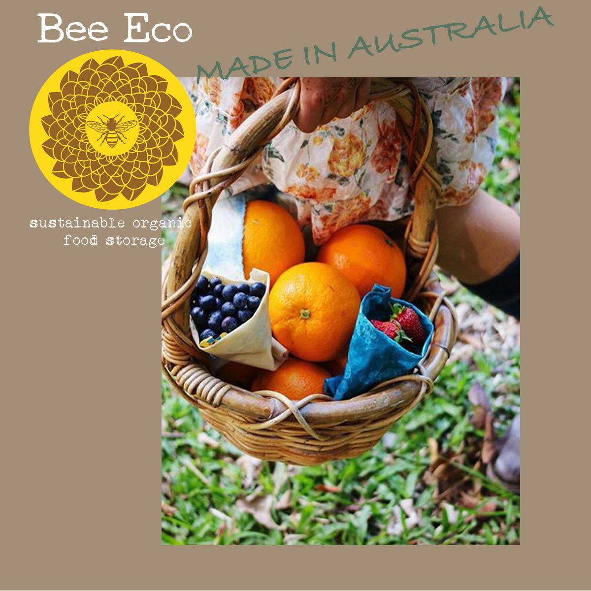 BeeEcoWrapビーエコラップラップオーガニックエコエコ生活フードラップオーストラリア蜂ハチミツ生活用品食器マルチカラーインスタ映え