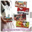 (3〜14営業日で発送)送料無料 長財布 財布 Disney ディズニー ミッキー 白雪姫 七人の小人 不思議の国のアリス アンティーク レトロ ポスターアート 小銭入れ