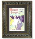 フランスを代表するポスター画家 トゥールーズ・ロートレック代表作の「ムーランルージュ」ロー...