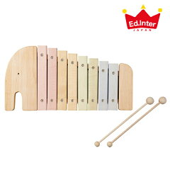 【ポイント2倍】【送料無料】日本製の木のおもちゃ!赤ちゃんもはじめての木琴に興味深々♪【内...