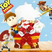【おむつケーキ ディズニー】「トイストーリー」ウッディのオムツケーキ 2段【出産祝い/ディズニー おむつケーキ/男の子/女の子/可愛い/ギフト/プレゼント】