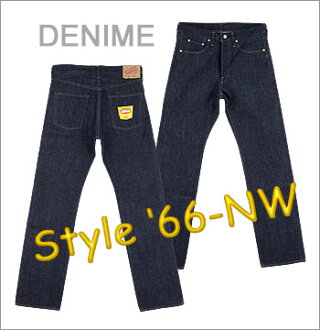 ◆ DENIME JAPAN (denime japan) 5011-0015-NW JEANS ☆ 66 Early Type Jeans / [Made in JAPAN] (Raw / Unwashed) (66 Type / Slim Straight Fit)