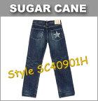 ■ SUGAR CANE(シュガーケーン) [SC40901H] ☆ LONE STAR JEANS (ローン スタージーンズ) ☆ 1 スターモデル 「5 Year Aged」 ☆ [日本製] (ウォッシュド/ワンウォッシュ)