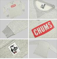 ■CHUMS(チャムス・スウェットトレーナー)[CH00-1002]☆ロゴクルートップ☆「LogoCrewTop」(長袖/ロゴプリント/裏毛/メンズ/レディース/S/M/L/XL)☆