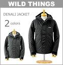【SALE セール】WILD THINGS (ワイルドシングス 中綿 ジャケット)(WT008N)デナリ ジャケット (防水透湿/プリマロフト)(フード付 アウトドア マウンテンパーカー アウター おしゃれ メンズ)