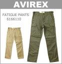 ■ AVIREX (アビレックス)(6166110)ファティーグ カーゴパンツ (チノパン/ミリタリー/おしゃれ/メンズ)(SALE セール)