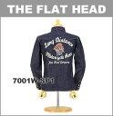 ■ THE FLAT HEAD(フラットヘッド 長袖 シャツ)[7001W-SP1]☆ 10オンスデニム・ウエスタンシャツ 刺繍 スペシャルモデル ☆(ワンウォッシュ/日本製/デニムシャツ/メンズ)