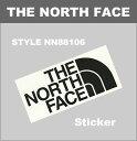■ THE NORTH FACE(ノースフェイス) NN88106 (TNF カッティング・ステッカー) ☆ アメカジ・アウトドア ☆ 【ゆうメールなら送料→90円】