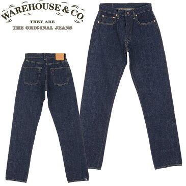 ■ WAREHOUSE(ウエアハウス) 【551ZXX Type Jeans】 (ビンテージジーンズ) 【2012-1105-OW】 ワンウォッシュ (日本製)