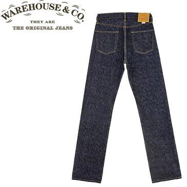 ■ WAREHOUSE(ウエアハウス) [800-NW] スタンダード ストレート ジーンズ(JEANS・Gパン・デニム)(ノンウォッシュ)(日本製)