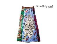 【送料無料】2019A/WGotoHollywoodゴートゥーハリウッド1298802スーベニアプリーツスカート【150cm~160cm】【91クレイジー】