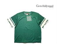 2020S/SGotoHollywoodゴートゥハリウッド1202303フットボールダメージニット【LL(150-160)】【8グリーン】