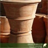 ツリーポットM(直径58cm×H47cm)(底穴あり)(陶器鉢/テラコッタ)(プランター/園芸/寄せ植え/ポット)