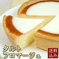 [送料込み]ずっしり!タルトフロマージュ(ベークドチーズケーキ)