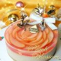 フロム蔵王桃のレアチーズケーキ4号