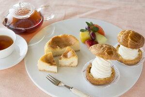 銀座NAGANO限定カマンベールケーキとマスカルポーネシュー詰合せ