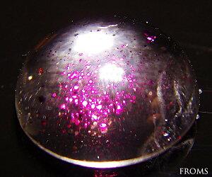 ピンクのティンカーベルが飛び踊る不思議なレア天然石一点物【4月末まで特別レビュー割引】約5c...