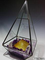 ◆3月末まで新商品ポイント10倍◆パワーストーンガーデンゴールデンカルサイトピラミッド 【ヘブ…