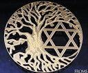 カバラの奥義が秘められた生命の樹神聖な幾何学プレート古代神聖幾何学 生命の樹 ツリーオブラ...