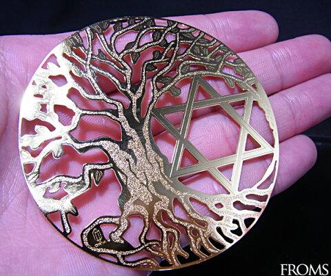 神秘幾何学生命の樹ツリーオブライフ【メール便可】f-§