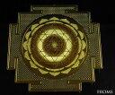 ヒンズー・仏教のチベット密教の神秘図形古代神聖幾何学 東洋の神秘図形ヤントラ【メール便可】...