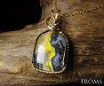 【5月末までの特別価格】【送料無料】一点物スペシャル日食の石エクリプスストーン・ペンダントPD114983