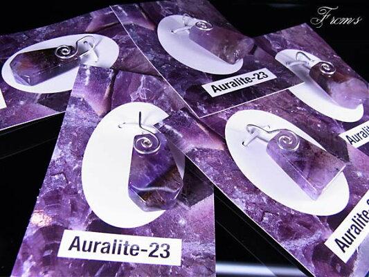 【半額】【送料無料】オーラライト23スパイラルワイヤーペンダントトップ【ヘブン&アース社】