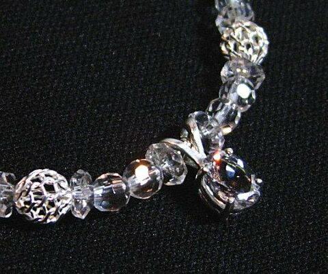 Silver925宝飾質アゼツライトブレスレット2