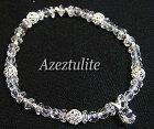 Silver925宝飾質アゼツライトブレスレット