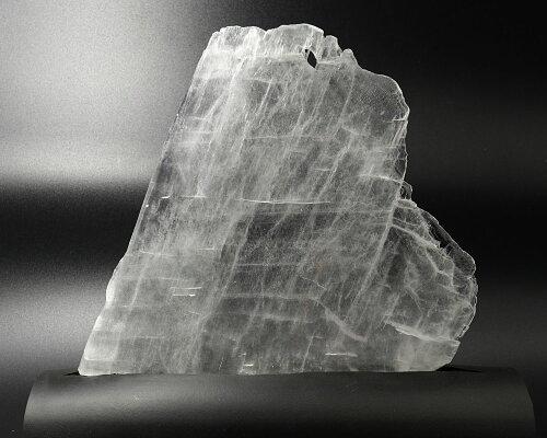 希少聖母マリアのガラス天然石セレナイトユタ州産高透明度sereniteフィッシュテール約267g、210x143x7mm新商品ポイント10倍10end
