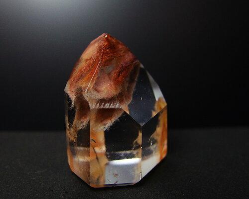 アンフィボールクォーツ[エンジェルウィングクォーツ]角閃石リモナイトヘマタイトカオリナイトリチウムポイントペンダントオプションあり一点物ブラジル産ポイント10倍