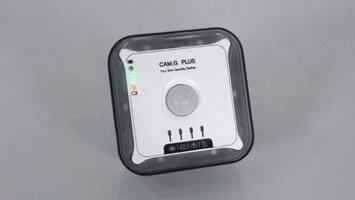 Cam.GPlus防犯侵入検知防災グッズ非常用SOS防災非常ベル一酸化炭素警報超音波蚊取り駆除LEDの安全灯温湿度アラーム防災用品一酸化炭素チェッカーキャンプ