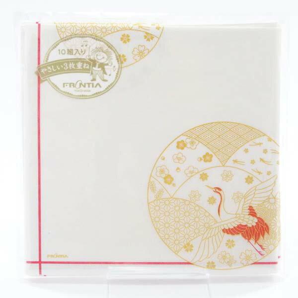 フロンティア『ペーパーナプキンお祝い鶴(pnk-022)』