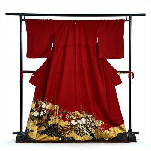 色留め袖 レンタル 色留袖 着物レンタル Lサイズ 大きいサイズ 結婚式 親族 列席者 貸衣装 フルフル フルレンタル フォトブック付 お呼ばれ