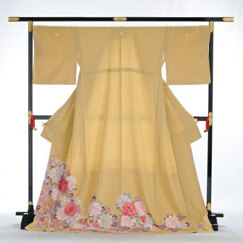 色留め袖 レンタル 色留袖 着物レンタル mit2056