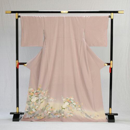 色留袖 色留め袖 レンタル 【高級正絹】 着物レンタル 結婚式 親族・列席者 貸衣装 フルフル フォトブック付 お呼ばれ