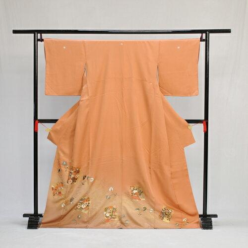 【レンタル】色留袖色留袖 レンタル mit2032 〔色留袖〕