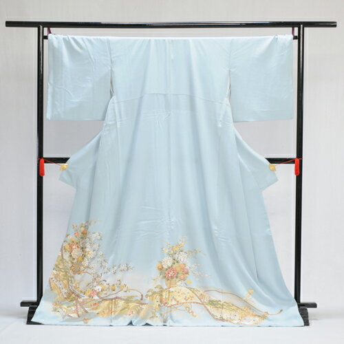 【レンタル】色留袖色留袖 レンタル mit2034 〔色留袖〕