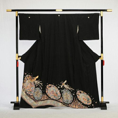 留袖 レンタル 留袖レンタル 黒留袖レンタル 着物 Lサイズ 広巾 広幅 大きいサイズ フルセットレンタル 高級正絹 結婚式 母親 母上 親族 列席者 貸衣装 かしいしょう ひろはば おすすめ 安い