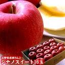 10月中旬より発送開始です【送料無料】シャキシャキで甘味の強い長野県産[シナノスイート16玉]