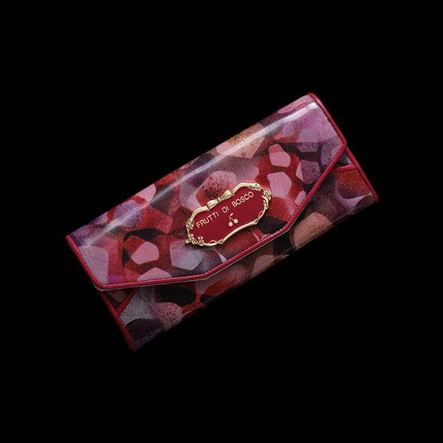 フルッティディボスコ Salu marmella(サルー マルメラ) 長財布 レディース エナメル 本革 ピンク