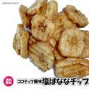 (塩ばなな 600g)徳用 ココナッツオイル仕上げ バナナチップ 塩バナナ 全国送料無料 ばなな ドライフルーツ ドライバナナ チップス つまみ お父さん その1
